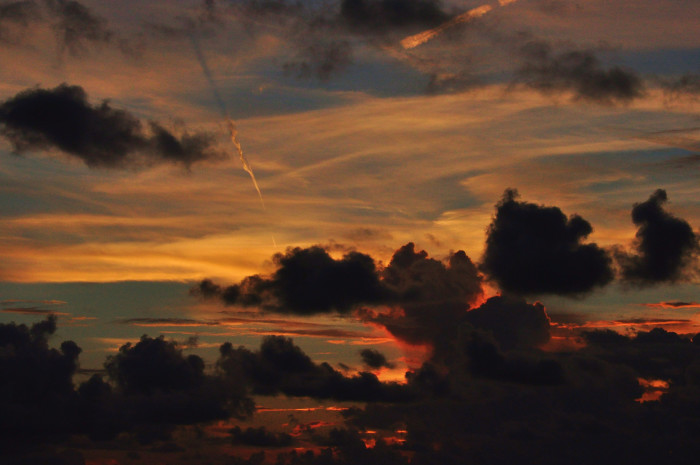 21. Cloudy Clearwater Sunset