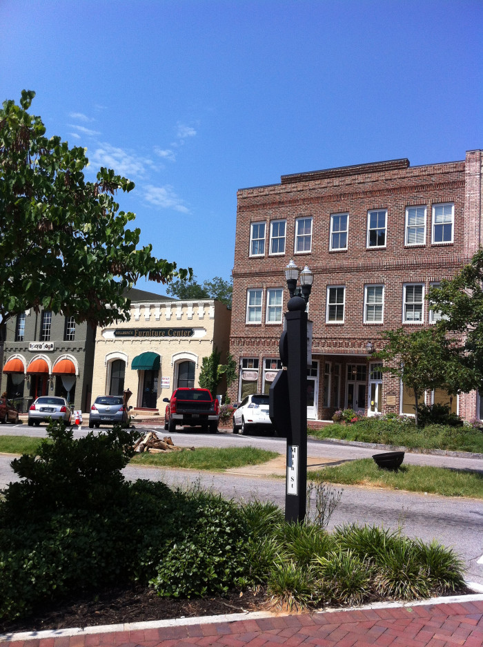 """5) Senoia, Georgia is another major film spot for """"The Walking Dead"""" where much of season 4 was filmed."""