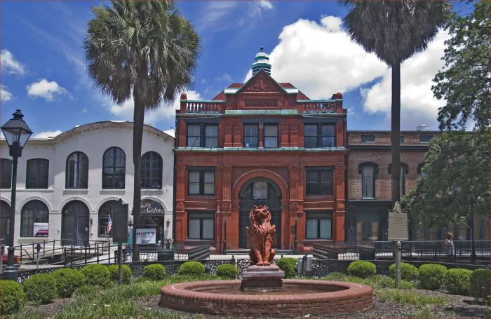 1) The Savannah Cotton Exchange