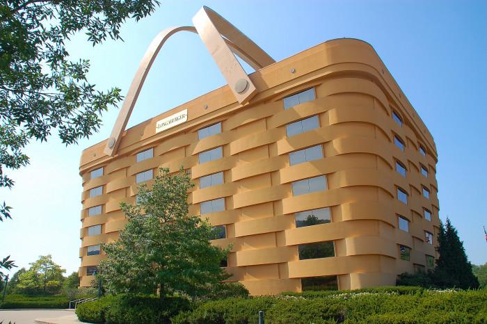 5) Longaberger Headquarters (Newark)
