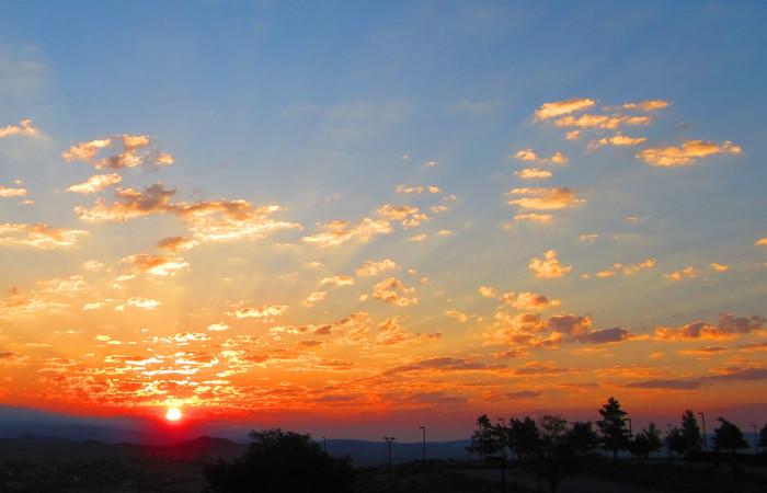11. Sunset over Sparks, Nevada