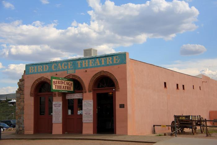 1. Bird Cage Theatre, Tombstone