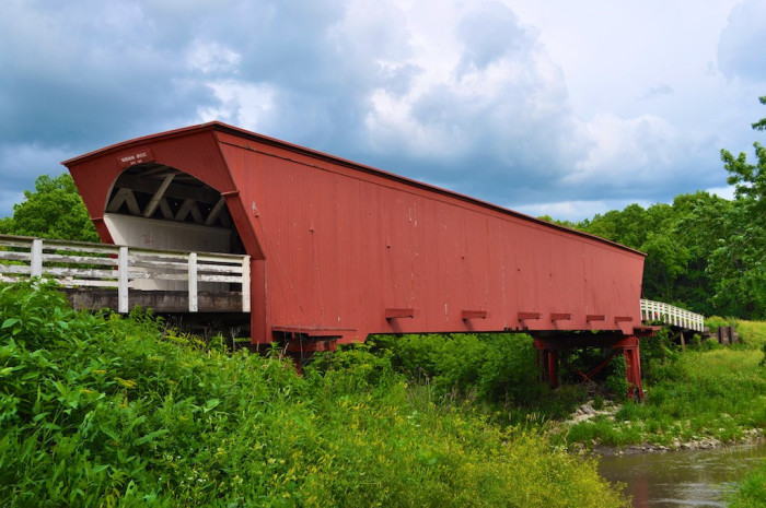 7. Roseman Bridge, one of the bridges of Madison County.