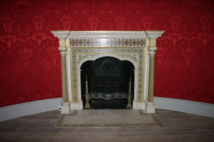 8. Indiana is home to one of the ONLY two Adam's fireplaces in the United States