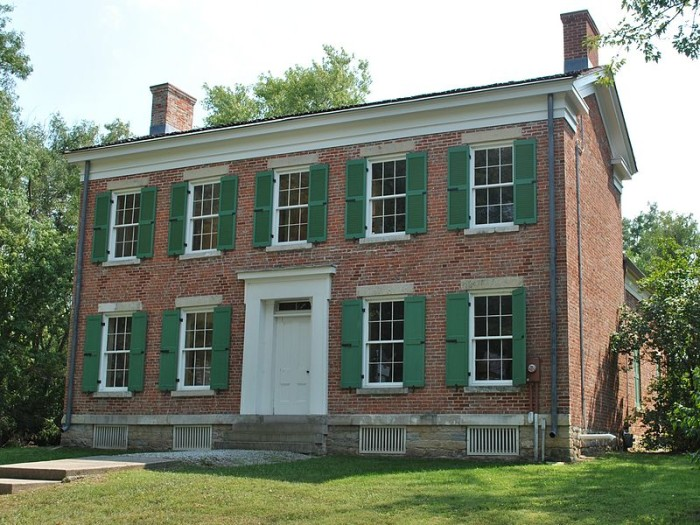 Colonial Homes In Fort Wayne : Historic houses in indiana you ll want to visit