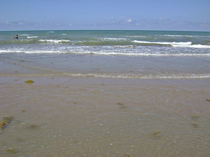 1) Boca Chica Beach (Brownsville)