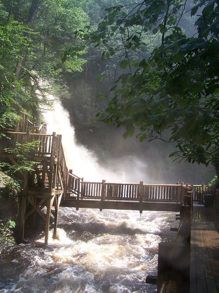 6. Bushkill Falls, Bushkill