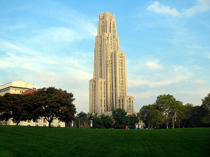 12. Cathedral of Learning, Pittsburgh
