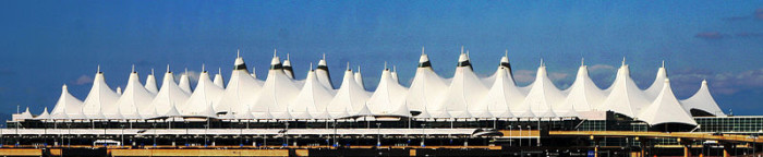 3.) Denver International Airport covers an underground city.