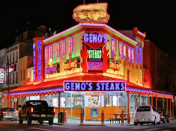 3. Geno's Steaks, Philadelphia