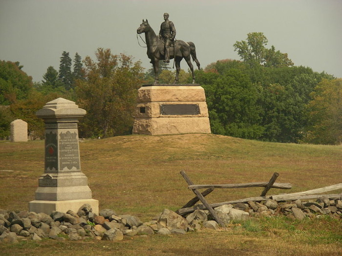 15. Gettysburg, one of our nation's most prominent landmarks