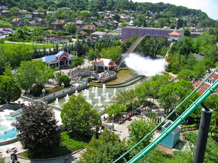 """6. Kennywood, which was the amusement park in """"Adventureland"""""""