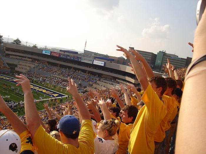 12. Mountaineer Football