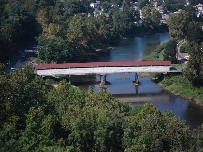 2. The Philippi Covered Bridge