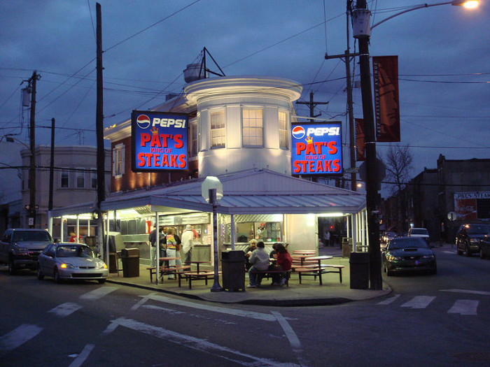 2. Pat's Cheesesteaks, Philadelphia