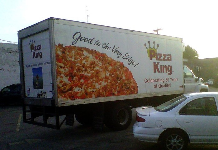 8. Pizza King is the only pizza place you should think about going to.