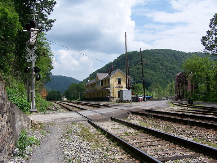 3. The ghost town of Thurmond, W.Va.
