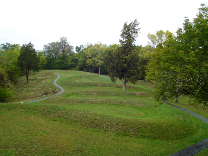 2) The Great Serpent Mound