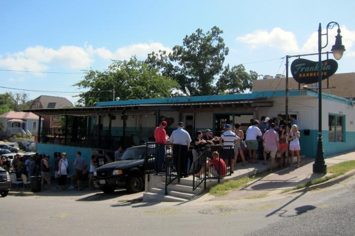 2) Franklin BBQ (Austin)