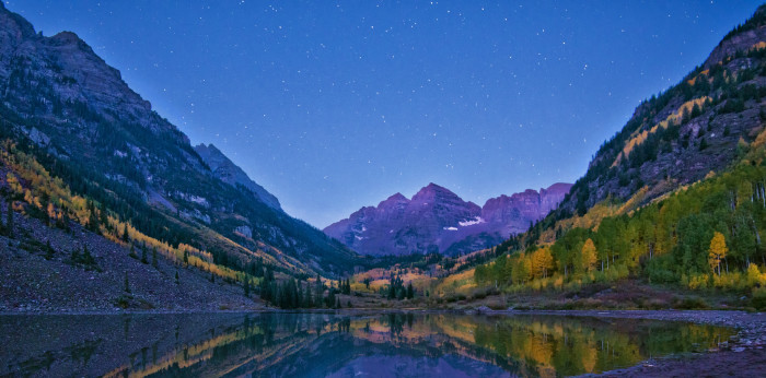 12.) See the Maroon Bells in person