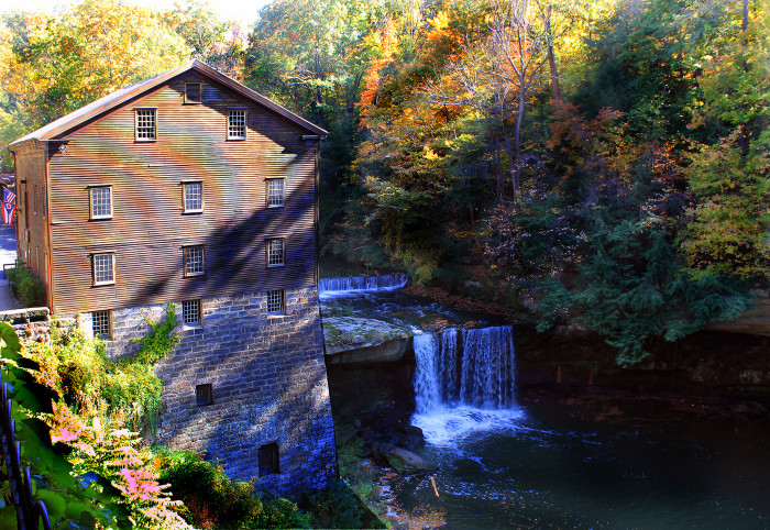 8) Lanterman's Mill at Mill Creek Park (Youngstown)