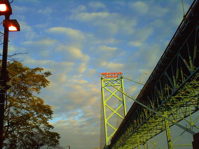 8. International travel involves a bridge...