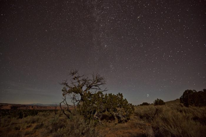 3. Starry skies