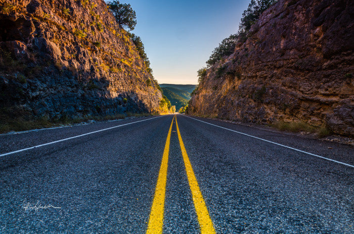 1) We have over 70,000 miles of highway in our state, which means plenty of roadtrips to take.