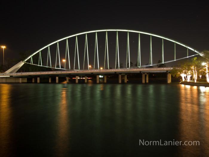 10) Lake Robbins Bridge (The Woodlands)