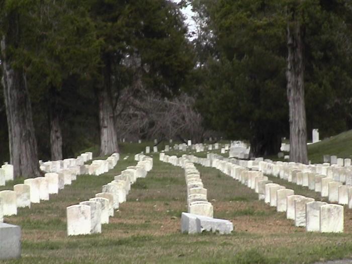 8. Vicksburg National Cemetery