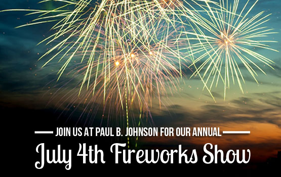 8. July 4th Fireworks Display