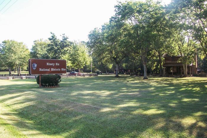 14. Ninety-Six National Historic Site, PO Box 418 Ninety Six, SC 29666