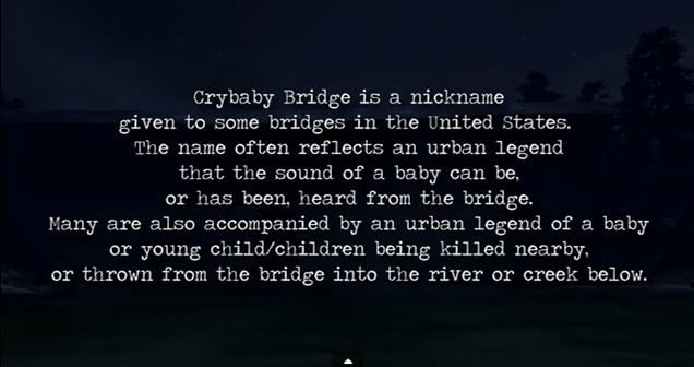 8. Crybaby Bridge