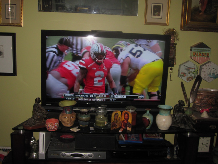 6) The Ohio State vs. Michigan football game was always the one time a year you'd see your dad yell/cry/do anything out of the ordinary.