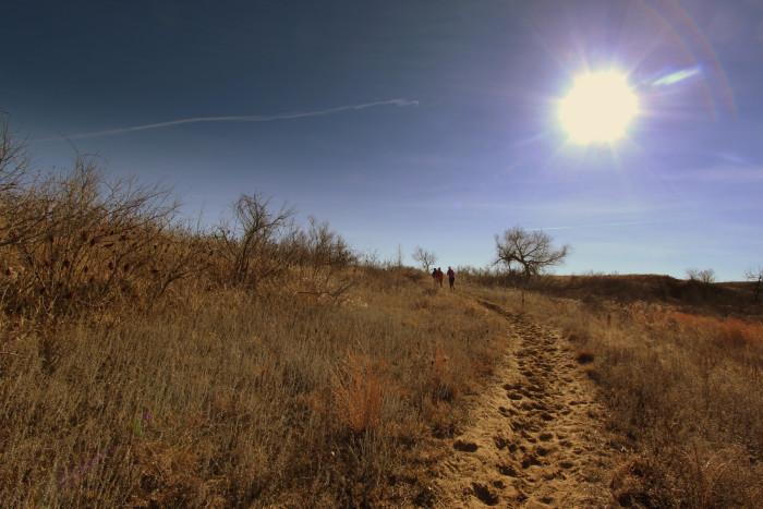 8.) Horsethief Canyon Trail