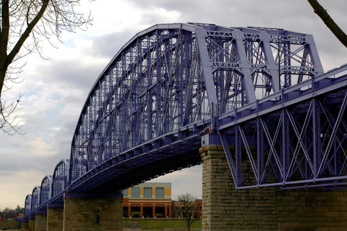 3) Newport Southbank Bridge (Cincinnati)