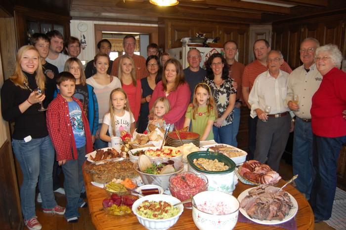 1. Sunday family meals