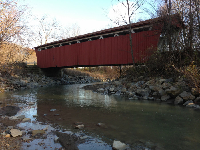 14) Everett Road covered bridge (Summit County)