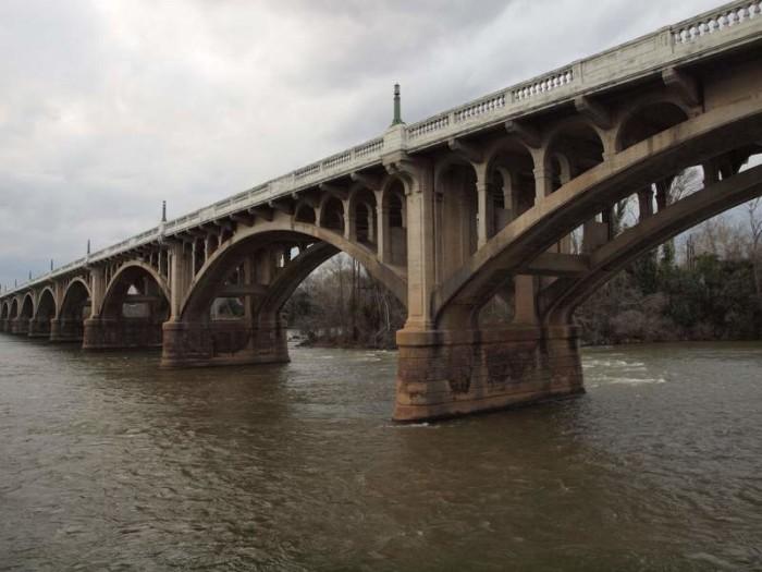 3. Gervais Bridge, Columbia, SC