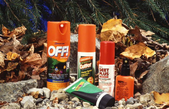 4. Bug Repellant (or more specifically, mosquito and tick repellant)