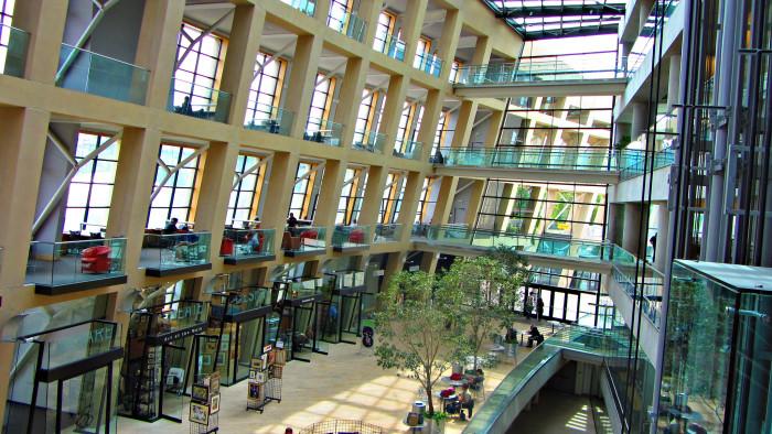 3) Salt Lake City Downtown Library