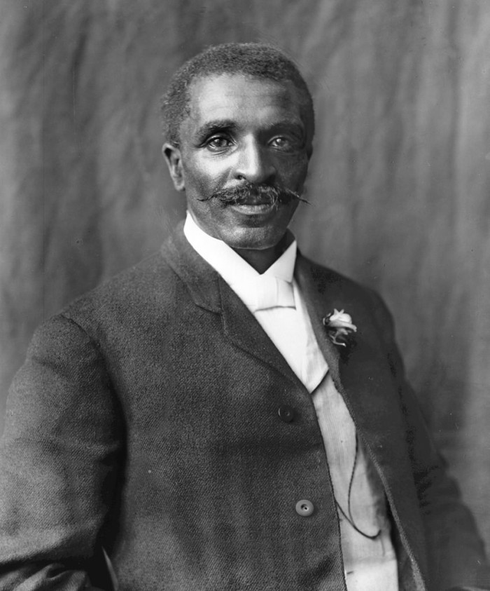 1.) George Washington Carver, the famous botanical scientist who discovered more than 300 products made from the peanut, graduated from high school in Minneapolis in 1885.