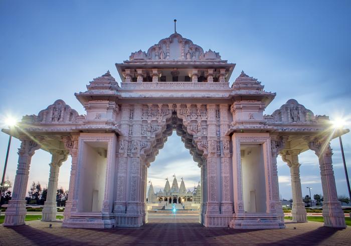 10) Visit the BAPS Shri Swaminarayan Mandir Temple in Stafford!