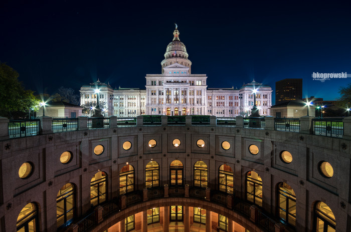 11) What a flawless, stunning capture of the Texas State Capitol in Austin!