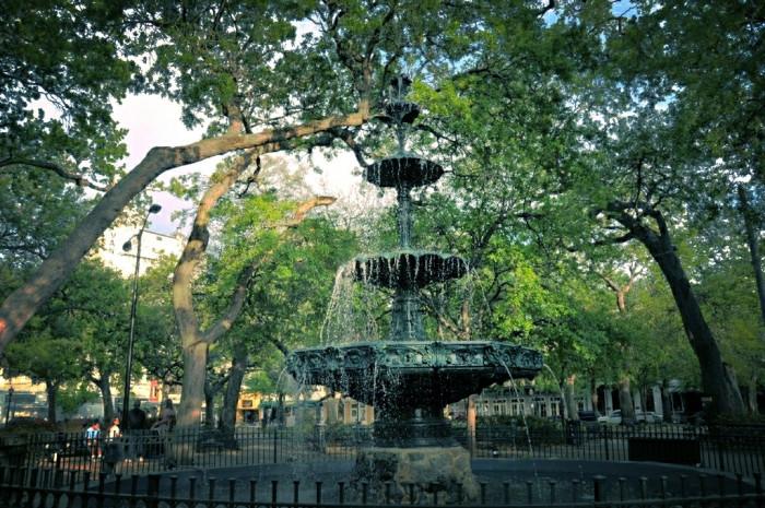 4. Fountain in Bienville Square - Mobile, AL