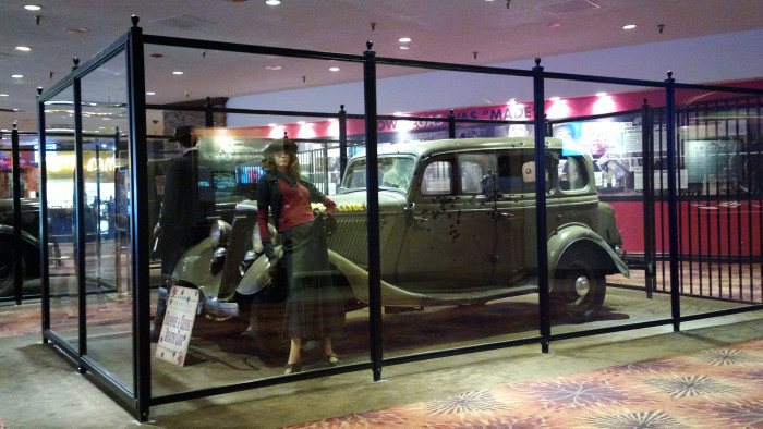 10. Bonnie & Clyde's Death Car - Whiskey Pete's Hotel & Casino / Primm, NV