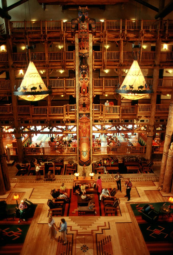 6. Disney's Wilderness Lodge is probably the only place you can stay at a hotel that looks like a ski resort in the middle of Florida, but guests rave about this stunning lodge in Lake Buena Vista.