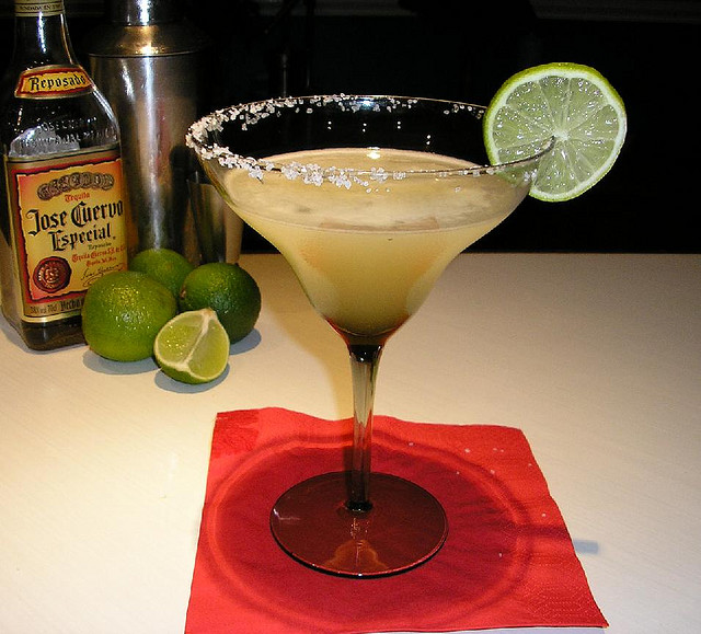 3. We can just pick some tequila up at the store when we get the taco fixings.
