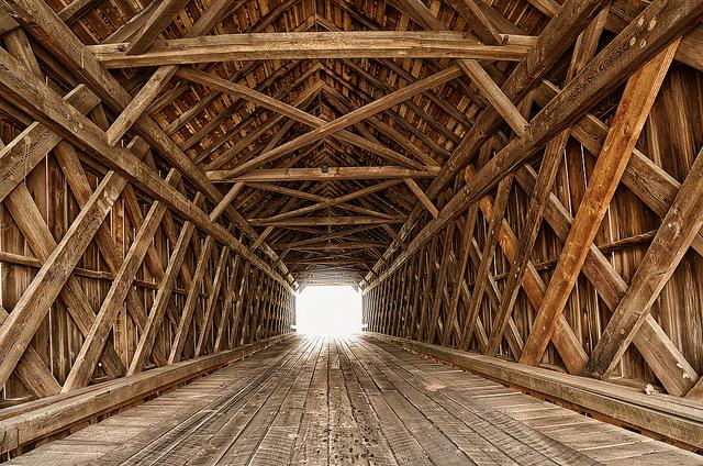 3. Bucks County Covered Bridge