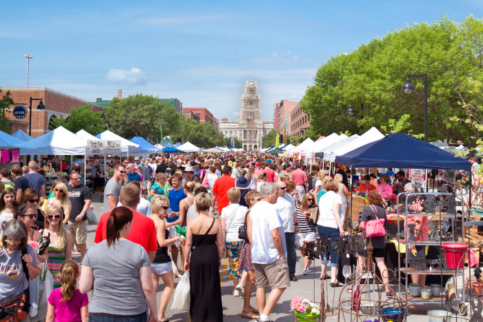 7. Shop for fresh produce at the Farmers' Market.